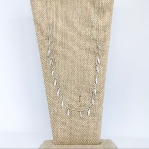 Pavé Two-Row Necklace